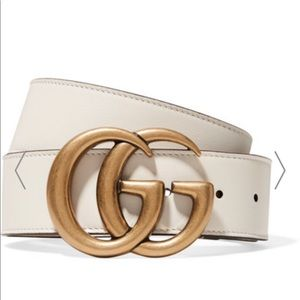 WORN ONCE Gucci Leather Belt